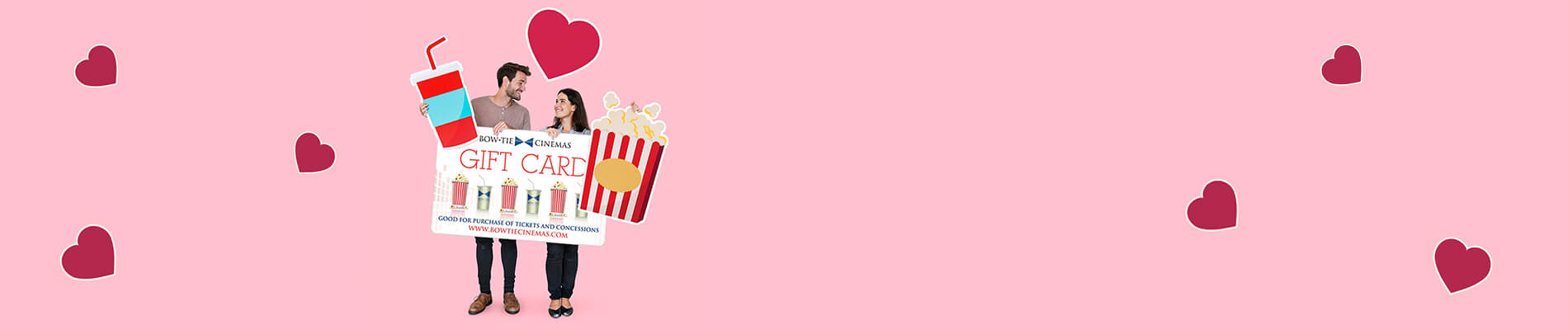 Bow Tie Cinemas Valentine's Day Promotion