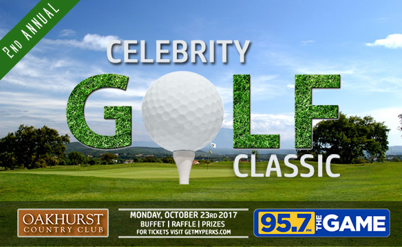 95.7 The Game Celebrity Golf Classic