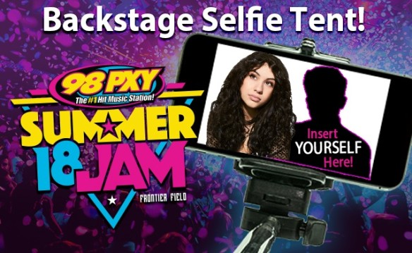 98 PXY Summer Jam 2018 Backstage Selfie Tent Pkg