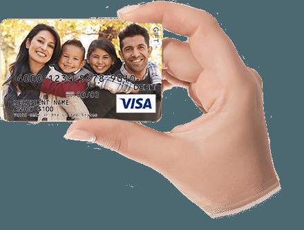 free standard shipping - Custom Visa Gift Cards
