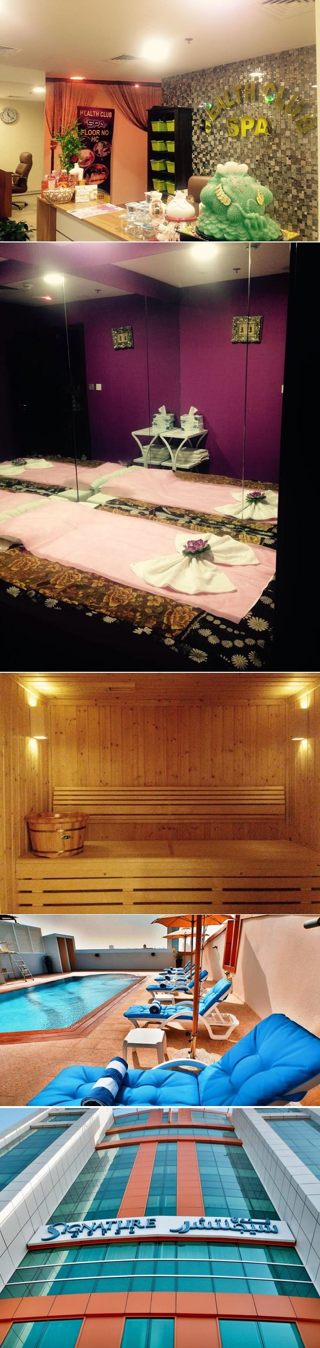 60 minute full body massage & Sauna & Steam bath access for only AED 99