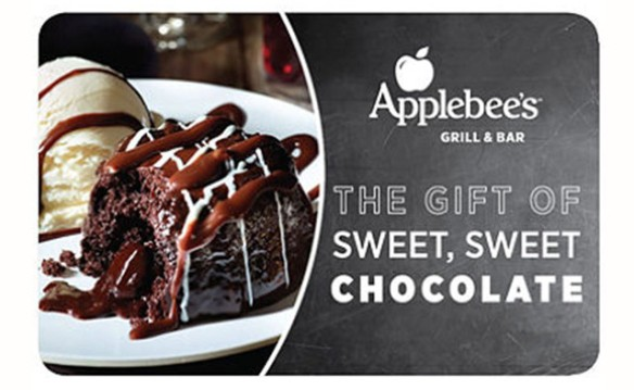 MULTI-MARKET - (5 ) Applebee's Dessert Cards - Each Good for (1) Triple Chocolate Meltdown