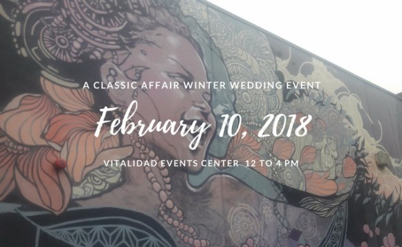 A Classic Affair - 2018 Winter Wedding Event