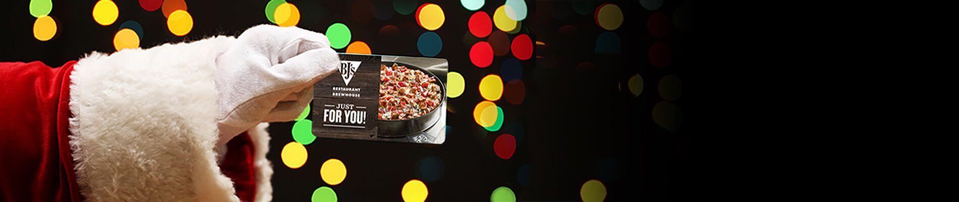 BJs Restaurant Holiday Promotion