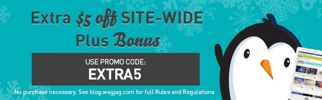 $5 Off Site-Wide + Bonus WIN