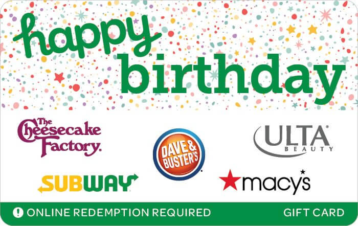 happy birthday egift card