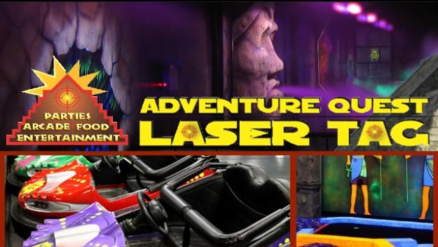 New Orleans Adventure Quest Laser Tag Games Half Price