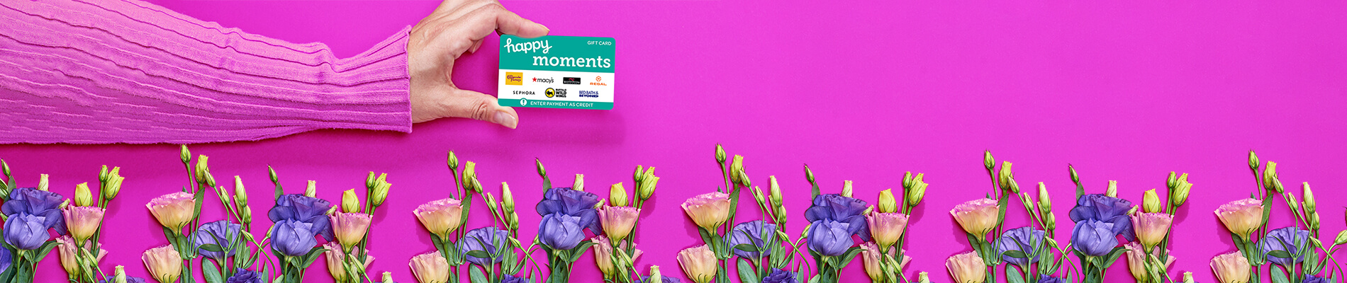 Happy Moments Gift Card Sale