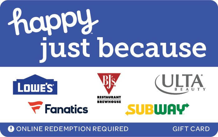 happy just because egift card