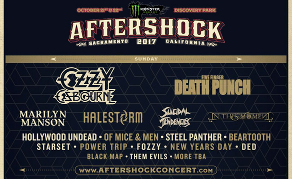 AFTERSHOCK 2017 Tickets