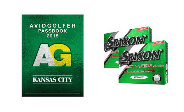 2018 AVIDGOLFER Kansas City Passbook with Two Dozen Srixon Balls!