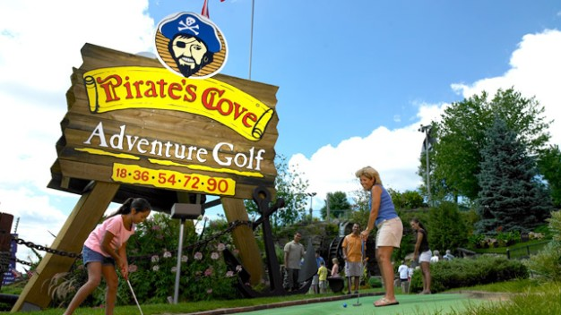 Half-Off Mini Golf for 4 at Pirate's Cove in the Dells!