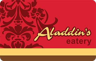 Aladdin's Eatery eGift