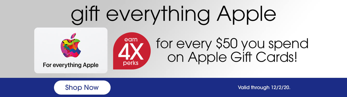 Apple Gift Card 4X