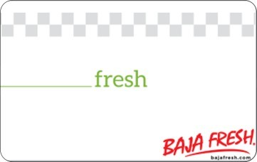 Baja Fresh Mexican Grill Gift Card