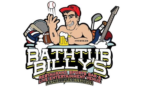 Bathtub Billy's $30 for $15 PERKS PLUS Jan 2018