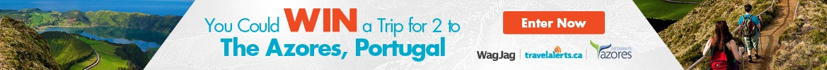 Enter for a chance to win a trip to The Azores, Portugal for 2!