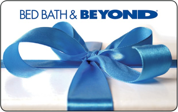 bed bath and beyond redeem gift card