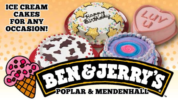 $20 Toward an Ice Cream Cake at Ben & Jerry's Scoop Shop For Only $10