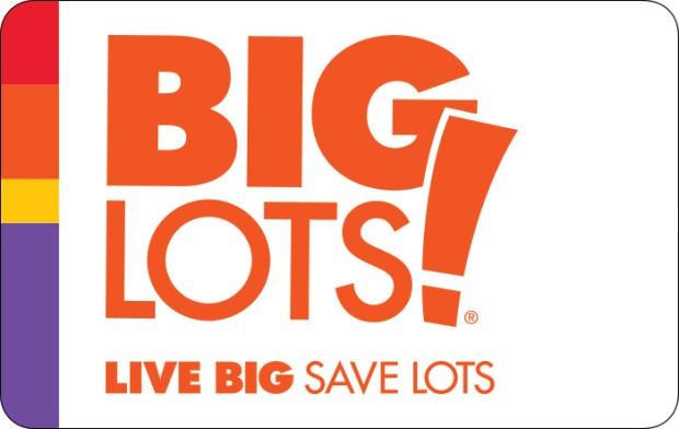 Save $10 off $50 Big Lots eGift Card