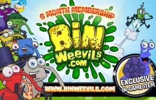 Bin Weevils 6 Month Membership $29.95 eGift