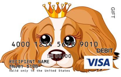 Birthday Pup Visa Gift Card