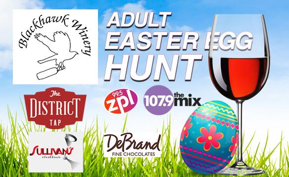 Blackhawk Winery Adult Easter Egg Hunt 2018