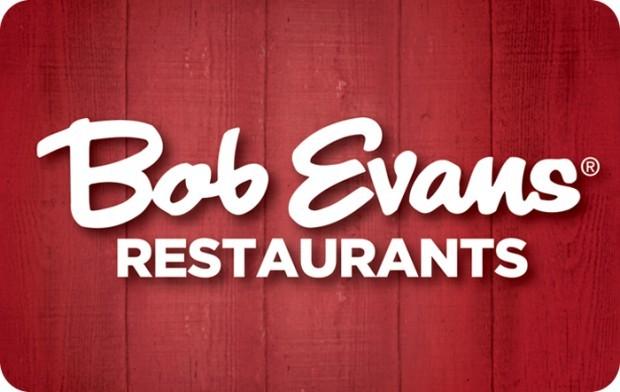 bob evans e gift card
