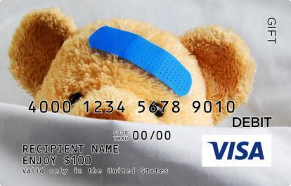 Boo Boo Bear Visa Gift Card