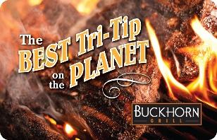 Buckhorn Grill eGift Card