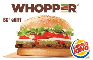 Buy a $25 Burger King eGift Card for $20