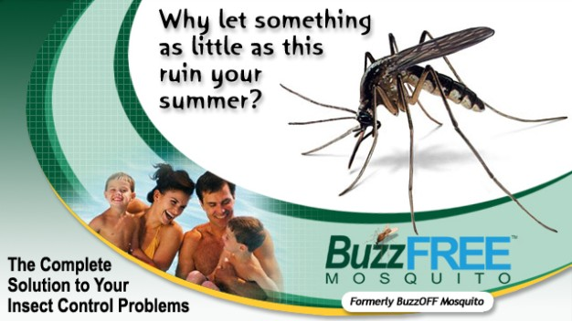 Discounted BuzzFREE Mosquito Treatment For Your Lawn