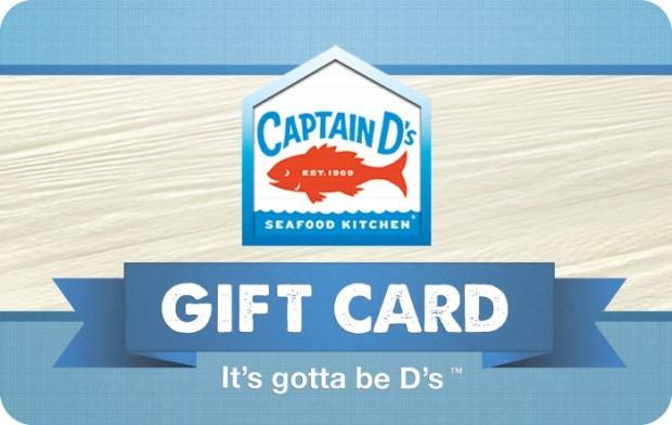 Captain D's Gift Card