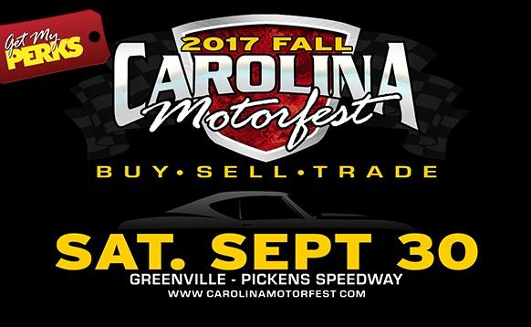 Carolina Motorfest: T-shirts and Merch