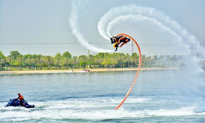 Flyboard Course With a Professional License