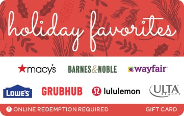 Holiday Favorites Holly eGift Card
