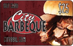 City Barbeque Gift Card