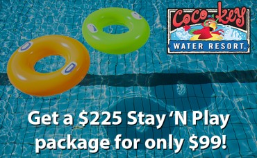 CoCo Key Water Resort: Get a $225 Stay 'N Play package for only $99!