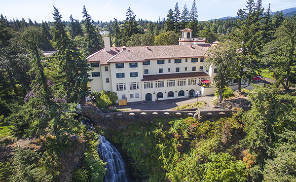 Columbia Gorge Hotel January 2017