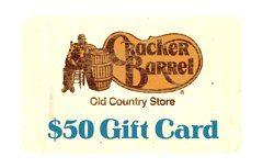 Cracker Barrel Gift Cards
