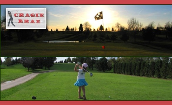 Two 18-Hole Rounds with Golf Cart Rental To Cragie Brae, $70 value for only $35