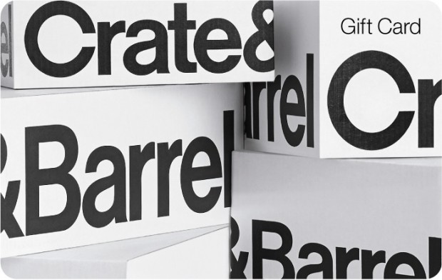 crate and barrel gift card balance