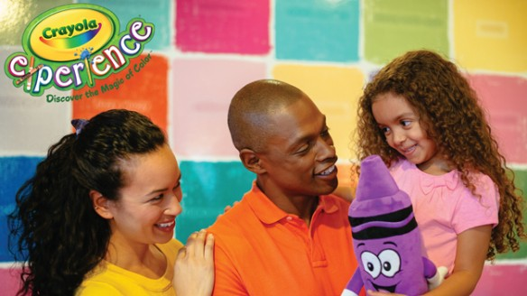 Grab a Pair of Tickets to The Crayola Experience