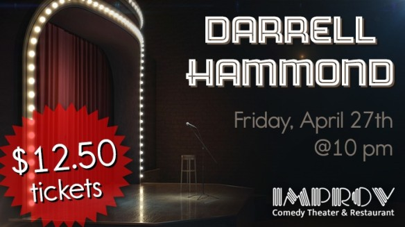 Darrell Hammond 10pm show Friday 4/27/18