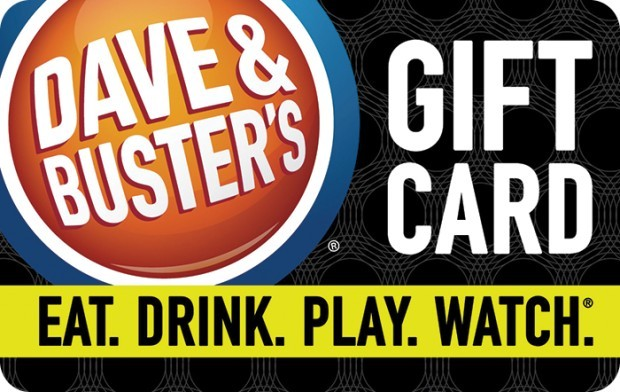 dave and busters e gift card