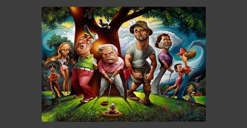 iDealGolfer: $79 Caddyshack Pictorial Tribute!!! Pop Art, Golf ...