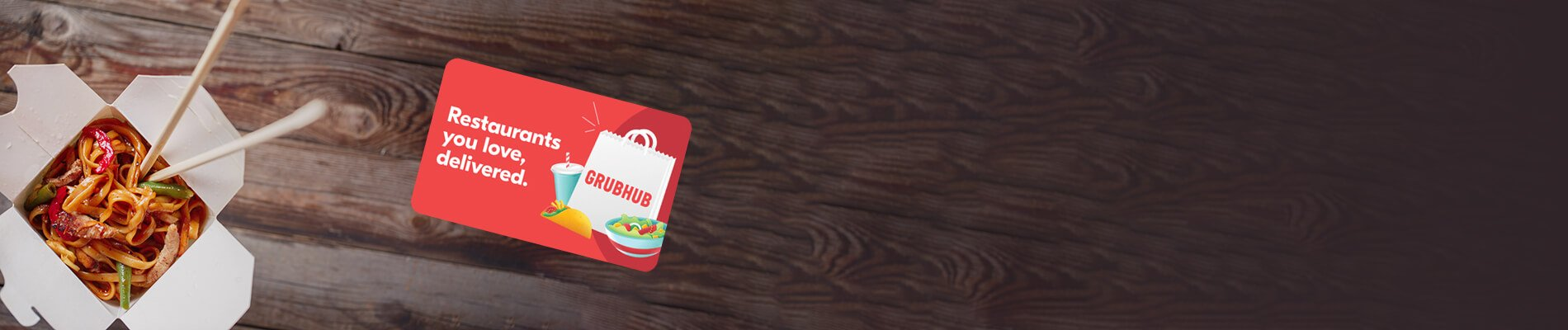 Grubhub eGift Card Sale
