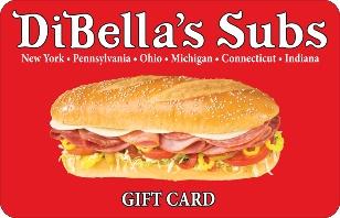 DiBella's Subs eGift Card