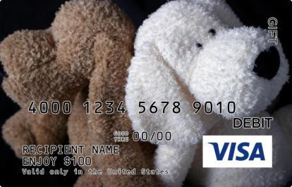 Doggie Visa Gift Card