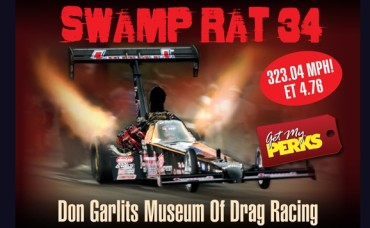 "Get $20 for Just $10 at ""Big Daddy"" Don Garlits Museum of Drag Racing"